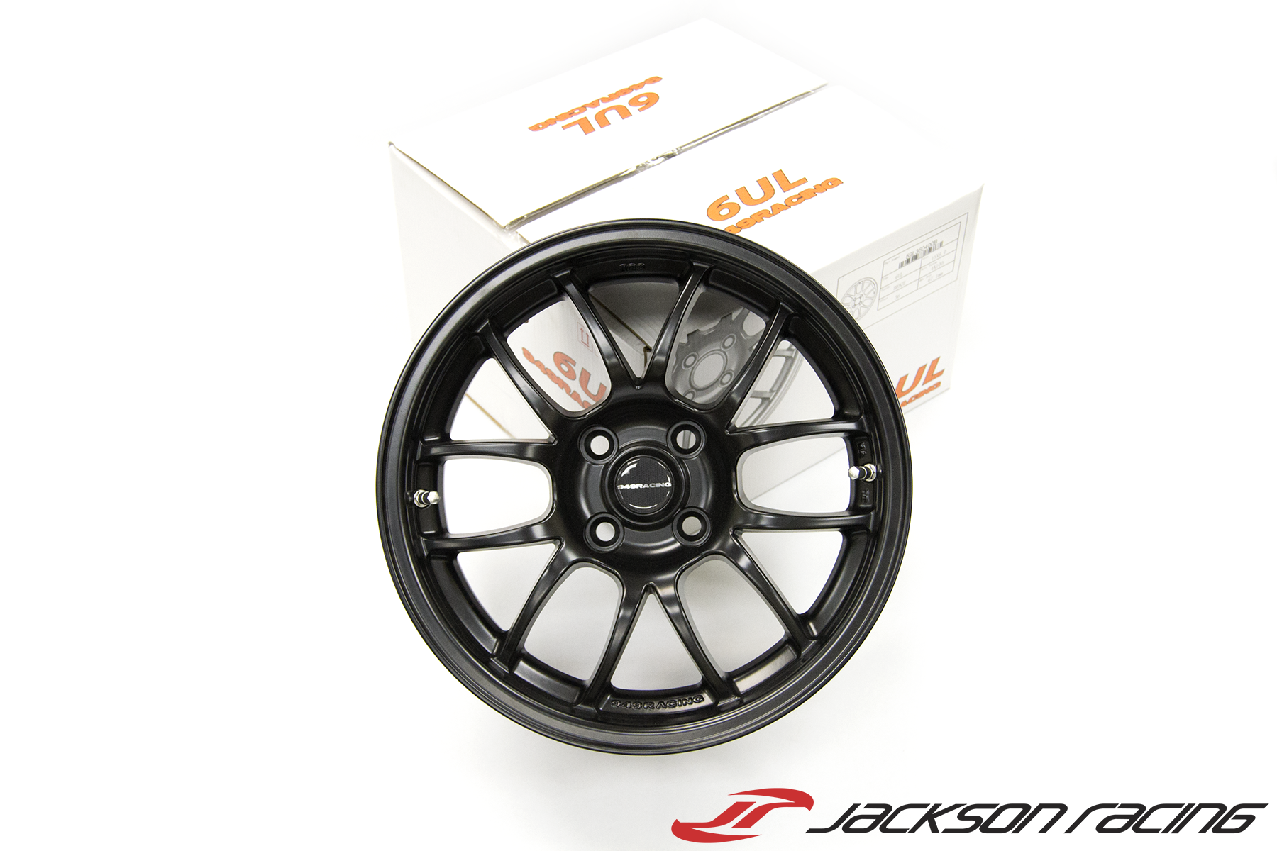 949 Racing 6UL - 15x7 +24 / 4x100 - Charcoal - Spec Miata