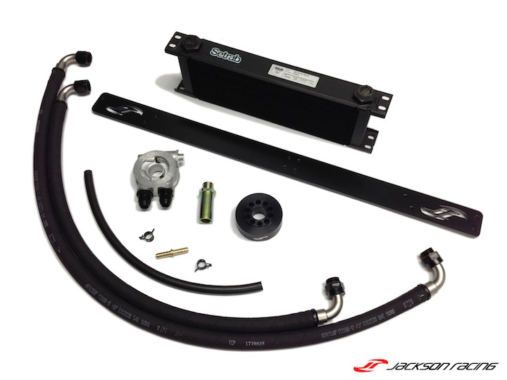 Jackson Racing Oil Cooler Kit - FI Application - BRZ/FRS