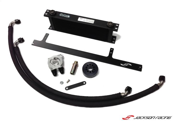 Jackson Racing Oil Cooler Kit - NA Application - BRZ/FRS