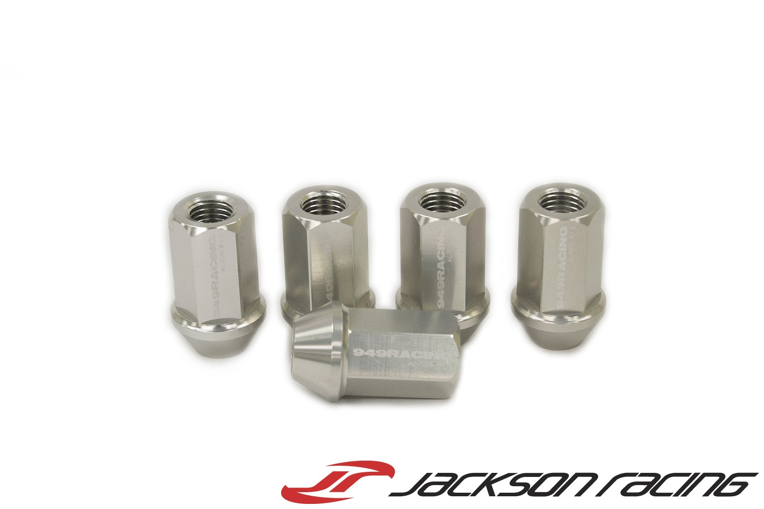 949 Racing Forged Lug Nuts - M12x1.50 - Silver - Set of 20
